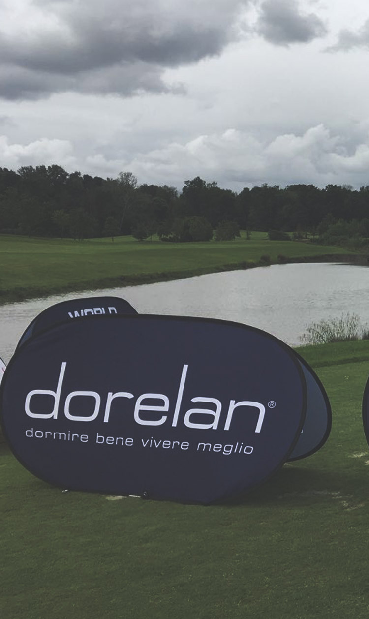 Dorelan, National Sponsor del World Corporate Golf Challenge Italy
